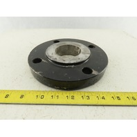 "3x2 Class 150 Slip-On Raised Face Steel Pipe Weld Flange 4 Bolt 7-1/2"" OD"