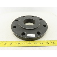 "4x2-1/2 Class 150 Slip-On Raised Face Steel Pipe Weld Flange 8 Bolt 9"" OD"