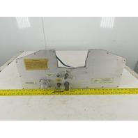 Fanuc Model P-200E Robotic Powder Coat Powder Hopper Cover Flow Meter