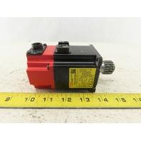 Fanuc A06B-0115-B075#0008 0.2kW 4000RPM 58V AC Servo Motor