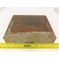 """DoAll Cast Iron Secondary Table20-1/4""""x16-3/4"""" From A Model 3612 Band Saw"""