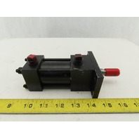 """Pneumatic Tie Rod  Air Cylinder 1-1/4"""" Bore 1"""" Stroke Double Acting"""