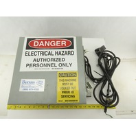 """Saginaw Control 12x12x6"""" Electrical Enclosure Type 12 Misc. Components Included"""