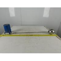 "MTS Systems 36"" Linear Float Level Gauge Transducer 10-36VDC HAZLOC"