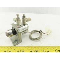 SMC CDQSB12-5DC 12mm Bore 5mm Stroke Mini Auto Switch Air Cylinder