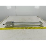 SMC C95N63-UA-DCH272BH Pneumatic Cylinder W/Locking Rod 63mm Bore 272mm Stroke