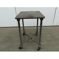 "1"" Webbed Machined Cast Iron Top Machine Base Welding Table 30x22-1/2x37-1/4"""