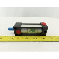 """Speedaire 1A430 Pneumatic Air Cylinder 1-1/8"""" Bore 2"""" Stroke Double Acting"""