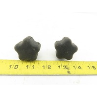 PT-CL-40-ST M6X1.0 Rubber Hand Grip Hand Knob Tightening Screw Lot of 2