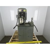 Parker H39.4P0P0/13 H-PAK 15Hp Hydraulic Power Unit 30 Gal 3Ph 9.4GPM 2350PSI