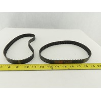 "Jason 255L 3/4"" Wide Single Sided Timing Belt 60 Teeth 22-1/2"" Length Lot Of 2"