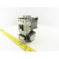 Fuji SC-E05/G TK-E02 600V 9kW MAX Motor Starter 20-25A Trip Overload 24VDC Coil
