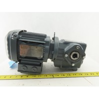 Sew Eurodrive SA37DRS71S4 43.68:1 Ratio 39RPM 230/460V .50Hp Gear Motor