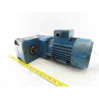 Demag UMF80AX-8 116:1 Ratio 7.4RPM 0.22kW 3Ph 400V Parallel Electric Gear Motor