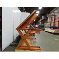 Air Tech ZLLTD5048E 2000Lb Scissor Lift & 45° Tilt 50x48 Table 115V Single Phase
