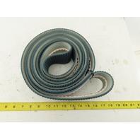 "Combi G2M90-RT/SG 2-3/4"" Rough Top V-Tracking Endless Conveyor Belt 149-3/4"""