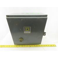 Square D 8736SCG8 Nema Size 1 Reversing Starter Manual Reset 480V Coil NOS