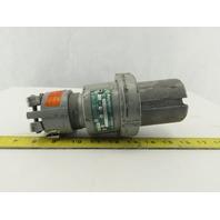 Appleton ACP6044BC Powertite 60A 4 Wire 4 Pole 600VAC 250VDC Male Plug