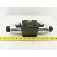 Parker D3W3CNJW Directional Hydraulic Control Valve 24V 1500/5000PSI Max