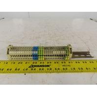 Siemens 8WA1 011-1DG11 6.5mm Size 4 Thru Type Single Pole Screw Terminal Lot/28