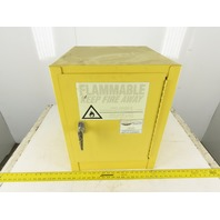 Eagle Model 1904 4 Gallon Yellow Flammable Safety Cabinet