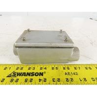 "Appleton FSCC-1-75 3/4"" Malleable Iron Shallow Type Conduit Outlet Box"