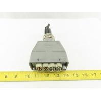 Harting HAN 40A Han EE 20 Pin Modular Industrial Electrical Connector W/ Housing