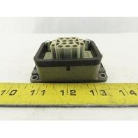 Harting Han 10EE-F 10 Pin Female Plug Base Housing Lever Lock 16A 500V