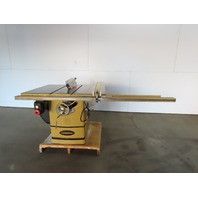 "Powermatic 72A 7.5Hp 14"" Tilt Table Saw W/Fence & Blade Guard 208-230/460V 3Ph"