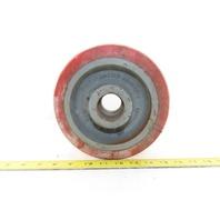"""Caster Concepts 8"""" OD x 3"""" Tread Width Non Marking Caster Wheel  Stock Bore"""