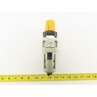 """SMC AW30-DUK01711 Pneumatic Filter Regulator 0-60PSi 1/4"""" NPT"""