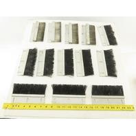 "Mink Bursten 6-1/4"" x 2"" Nylon Bristle Strip Brush Lot Of 13"