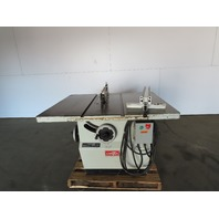 "Cantek Canta MBS-350 14"" Tilt Arbor Table Saw W/Fence & Blade Guard 10Hp 3Ph"