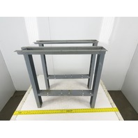 "Stackbin 28-3/4"" Wide  x 28-1/4"" Tall Bench Frame Legs Set of 2"