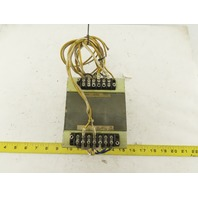Shihen Technical W-L00470A 200/220V Primary 100V 8.5V Secondary 2A Transformer