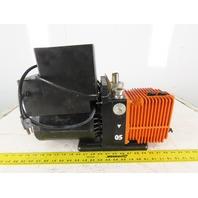 Alcatel 2005 1/2Hp Rotary Vane Vacuum Pump 120V  50/60Hz Single Phase