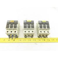 Wohner AC-22B 32A Fuse Holder 3 Pole 690V 50/60HzLED Indicator  Lot Of 3