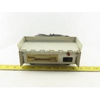 "NEC FD1137D 3.5"" Floppy Diskette Drive & Power Supply In Industrial Case"