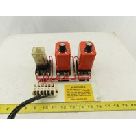 NEC A1K-600-461 A1K-60-461 Solid State Timer 6-600 Second .6s-1 Min Relay Board