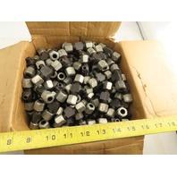 LDI BA3000-5 5/16 Tube x 1/8NPT x 5/16 Tube Tee Self Flare Union Fitting Lot/100