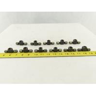 LDI BA3100-2 1/8 Tube x 1/8 FNPT x 1/8 Tube Tee Self Flare Union Fitting Lot/11