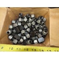 LDI BA3400-8 1/2 Tube x 1/2 Tube x 3/8FNPT Tee Self Flare Union Fitting Lot/100