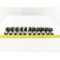 LDI BA3100-8 1/2 Tube x  3/8FNPT x 1/2 Tube Tee Self Flare Union Fitting Lot/11