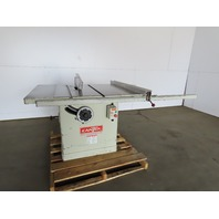 "Cantek Canta TA-1214 14"" Tilt Arbor Table Saw W/Fence 10Hp 230/460V 3Ph"