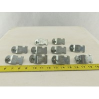 "Cooper B-Line B2010 1"" Standard Pipe Conduit Clamp Strut Strap Lot of 10"