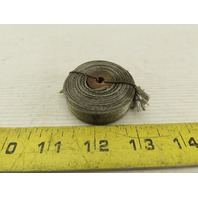"""1/2"""" Wide Thin Tinned Copper Mesh Electrical Grounding Strap 0.0145"""" Thick 16'"""
