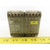 Pilz PNOZ4 474995 24VDC 2 Channel Safety Relay