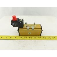 Ross W6476B3401 5/2 Pneumatic Poppet Solenoid Valve 110/120V AC 48VDC