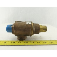 """Kunkle 20-E01-MC 1"""" Safety Pressure Relief Valve 10 PSIG 11 GPM"""
