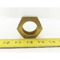 """Parker 20 BTX-B Triple-Lok 1-1/4"""" 37° Flare Tube Nut Brass #20 JIC"""